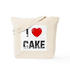 I * Cake Tote Bag