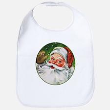 Vintage Santa Face 1 Bib