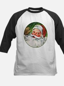 Vintage Santa Face 1 Baseball Jersey
