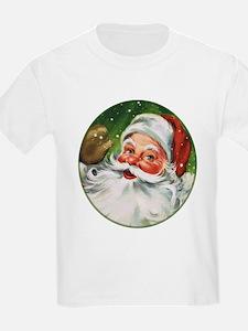 Vintage Santa Face 1 T-Shirt