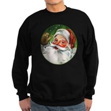 Vintage Santa Face 1 Sweatshirt