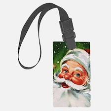 Vintage Santa Face 1 Luggage Tag