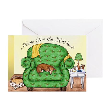 Home Holidays Dachshund Christmas Cards (20)