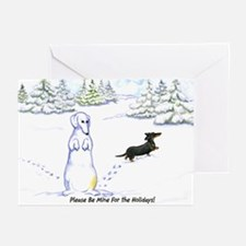 Be Mine Wiener Dog Holiday Card (10)