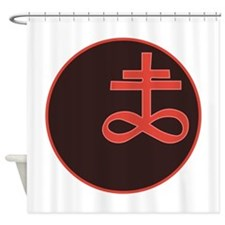 Brimstone Symbol Shower Curtain