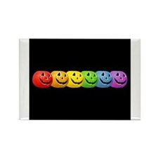 Cute Rainbow pride Rectangle Magnet