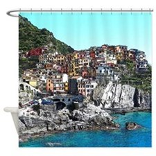 CinqueTerre20150901 Shower Curtain