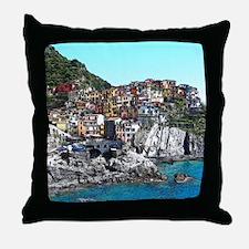 CinqueTerre20150901 Throw Pillow