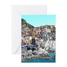 CinqueTerre20150901 Greeting Cards