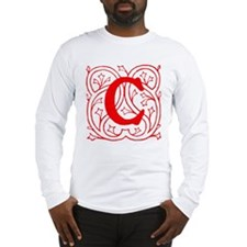 Initial C Long Sleeve T-Shirt