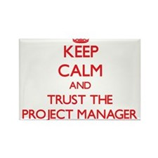 Cute Project managers Rectangle Magnet (10 pack)