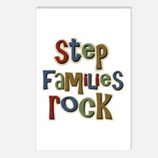 Stepfamilies Rock Step Family Day Postcards (Packa