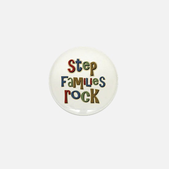 Stepfamilies Rock Step Family Day Mini Button