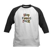 Stepfamilies Rock Step Family Day Tee