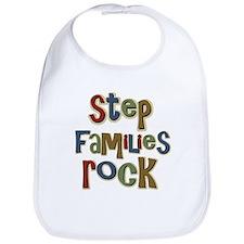 Stepfamilies Rock Step Family Day Bib