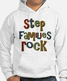 Stepfamilies Rock Step Family Day Hoodie