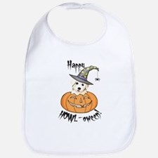 Halloween Bichon Bib