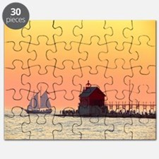 Grand Haven Sunset Puzzle