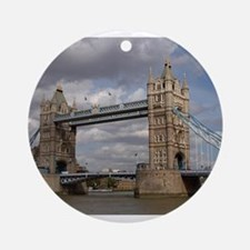 london england Round Ornament