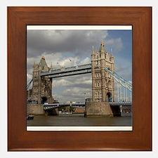 london england Framed Tile