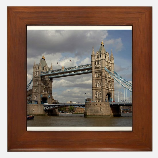london england Framed Tile