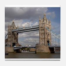 london england Tile Coaster
