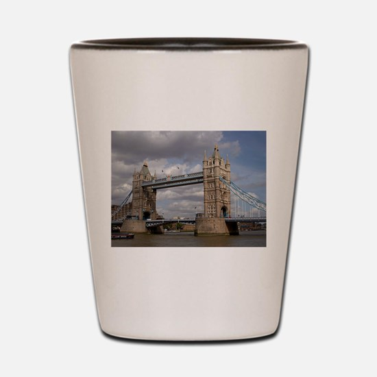 london england Shot Glass
