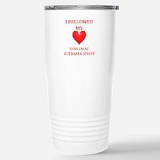 221B joke Travel Mug