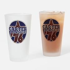 Carter Mondale 1976  Drinking Glass