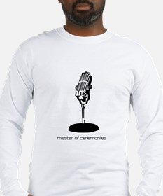 Cute Microphone Long Sleeve T-Shirt
