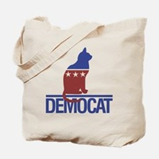 democat Tote Bag