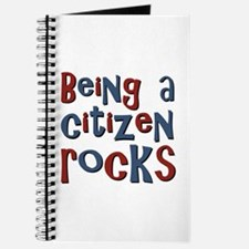 Being a USA Citizen Rocks Journal