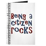 Being a USA Citizen Rocks Journal