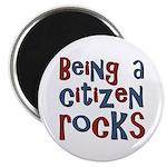 Being a USA Citizen Rocks Magnet