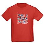 Being a USA Citizen Rocks Kids Dark T-Shirt