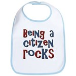 Being a USA Citizen Rocks Bib