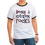 Being a USA Citizen Rocks Ringer T