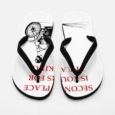 dirt bike Flip Flops