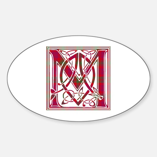 Monogram-MacNab Sticker (Oval)