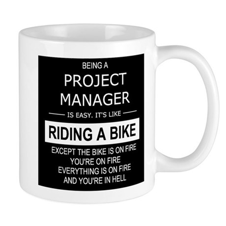 Project manager in hell mugs by thegrapedotorg for Mug handle ideas