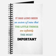 Sherlock Holmes Quote on The Importance of Journal