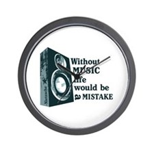 Funny Without music Wall Clock
