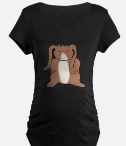 carrottrouble.png Maternity T-Shirt