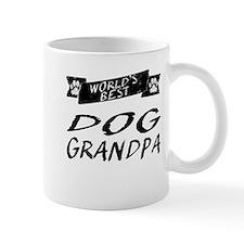Worlds Best Dog Grandpa Mugs