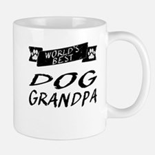 Worlds Best Dog Grandpa Mugs