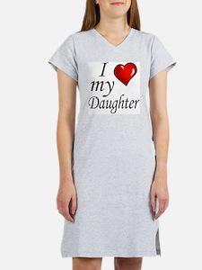 I love my Daughter Women's Nightshirt