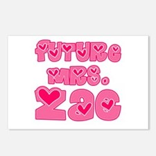 Future Mrs. Zac Postcards (Package of 8)