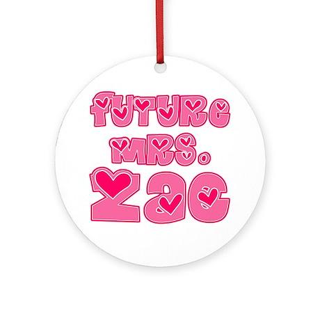 Future Mrs. Zac Ornament (Round)