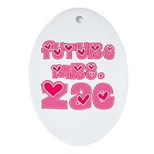 Future Mrs. Zac Oval Ornament