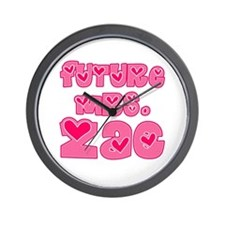 Future Mrs. Zac Wall Clock